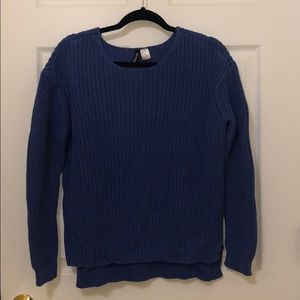 Violet blue sweater